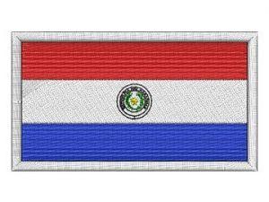 Nášivka Paraguayská vlajka