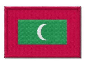 Nášivka vlajka Maledivy