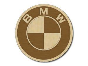 Podtácek dřevěný BMW 2