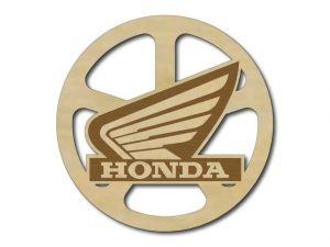 Podtácek dřevěný Honda