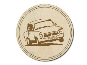 Podtácek Trabant