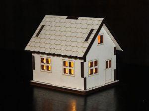 Domeček s LED osvětlením