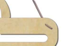 Detail uchycení věšáku