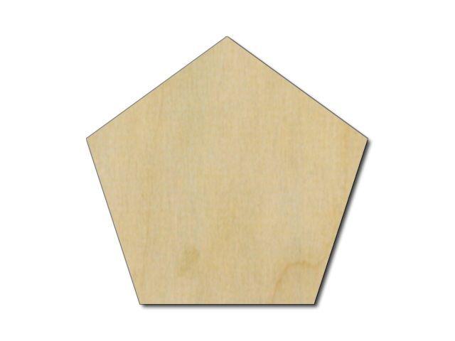 pětiúhelník z překližky