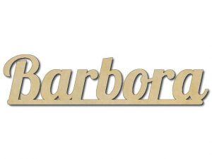 ukázka jména Barbora
