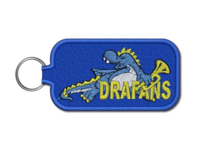 klíčenka drafans modrá