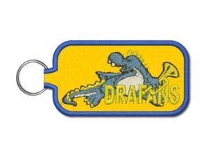 klíčenka drafans žlutá