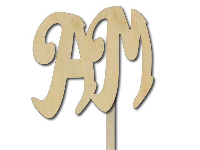ilustrační monogram AM