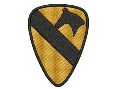 Nášivka 1st Cavalry Division Decal Pelisport