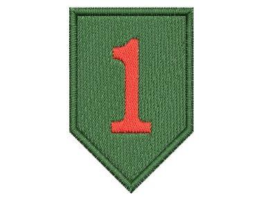 Nášivka 1st US Infantry Division