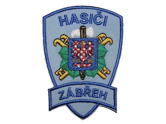 Nášivka Hasiči Zábřeh Pelisport