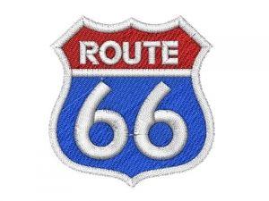 Nášivka Route 66