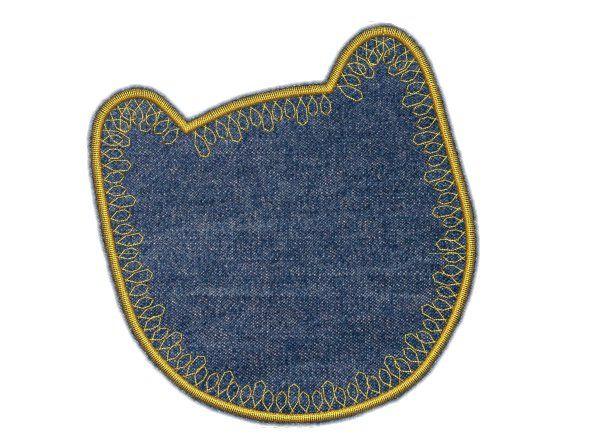 Textilní záplata Kočka Pelisport