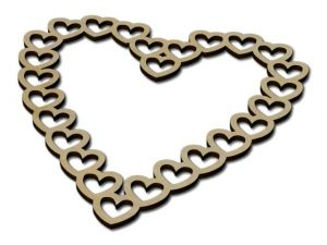 Dekorace Srdce v srdci