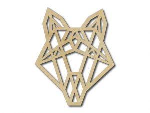 Geometrický obrázek Liška 2