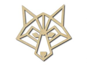 Geometrický obrázek Liška
