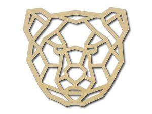 Geometrický obrázek Tygr