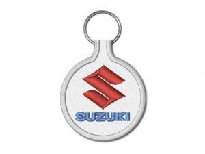 Klíčenka Suzuki kulatá