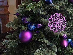 vánoční ozdoba na stromku