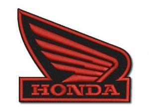 Nášivka Honda křídlo zrc.