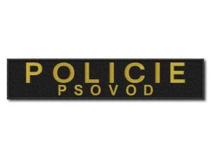 nášivka Policie psovod