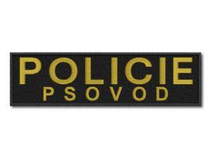 Nášivka Policie psovod velká