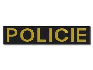 Nášivka Policie velká