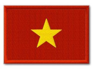 Nášivka Vietnamská vlajka