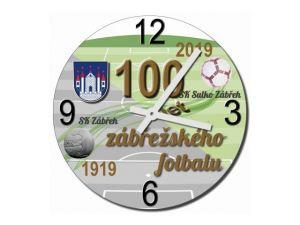 Skleněné hodiny 100 let fotbalu