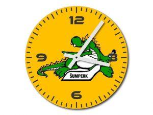 Skleněné hodiny Draci Šumperk