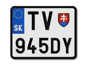 SPZ moto Slovensko