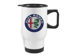 Termohrnek bílý Alfa Romeo
