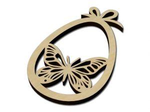 velikonoční vajíčko motýl