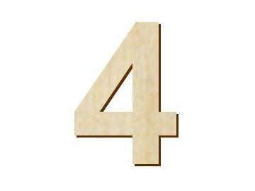 číslice 4