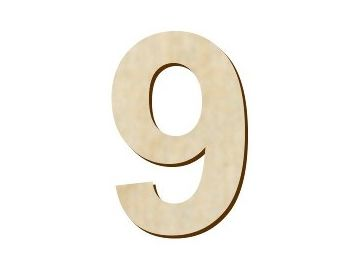 číslice 9