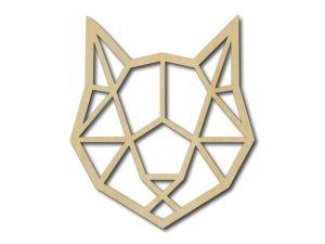 Geometrický obrázek Kočka