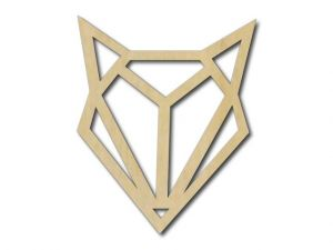Geometrický obrázek Liška 4