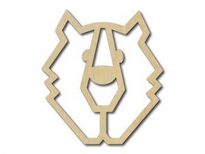 Geometrický obrázek Medvěd 3