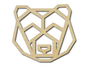 Geometrický obrázek Medvěd 4