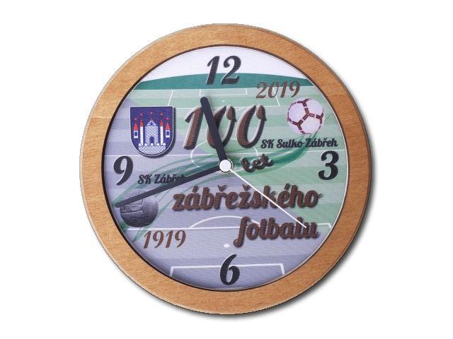 kombinované hodiny 100 let zábřežského fotbalu