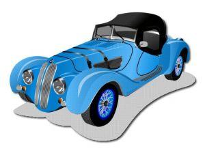 Nažehlovačka Auto  BMW