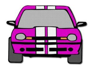 Nažehlovačka Auto