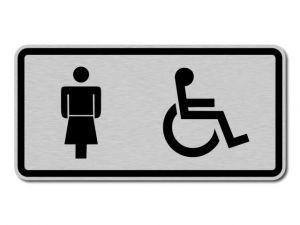 Piktogram Dámy a Invalidé