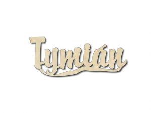 Dřevěná dekorace Tymián