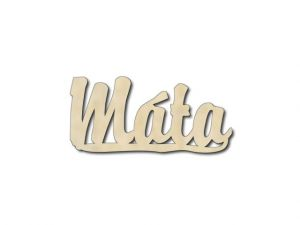 dekorace Máta