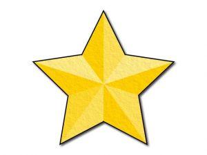 Filcová hvězda T3