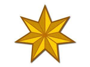 Filcová hvězda T4