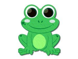 Filcová žába tištěná