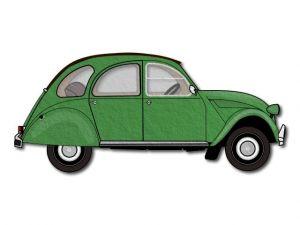 Filcové auto Citroën