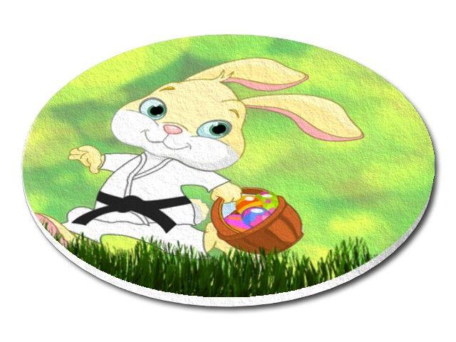 filcový tácek Velikonoce